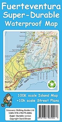 Fuerteventura Map Spain Canary Islands